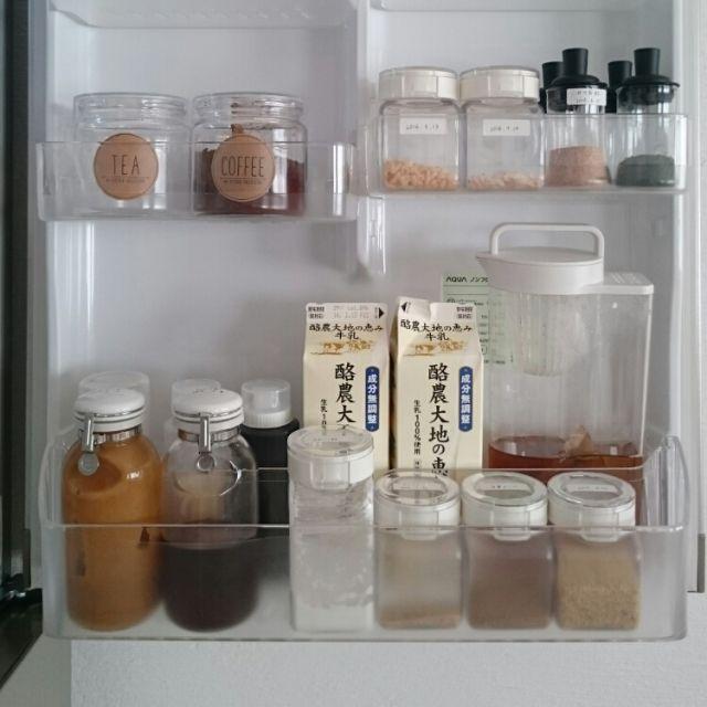 無印良品のホーロー保存容器のブログ画像