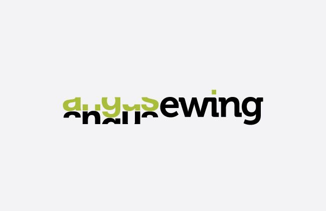 angusewing™ Logo Design - CRUNCHYAPPLE™ Design - by Angus Ewing www.angusewing.com