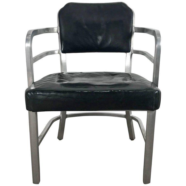 Warren Mcarthur Armchair Machine Age Goodform American Art Deco