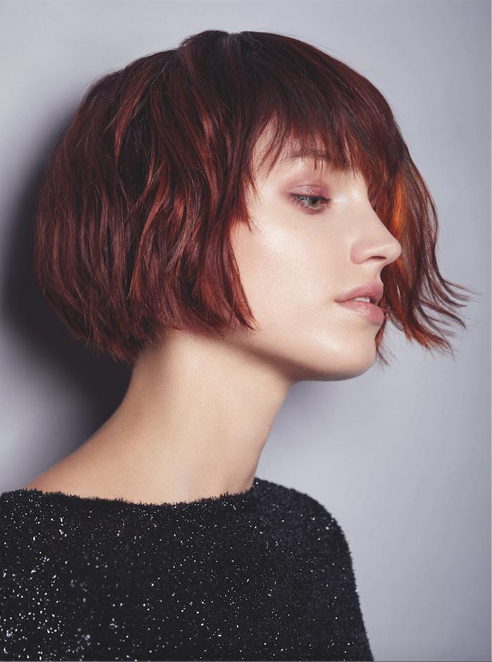 collection Mon Coiffeur Exclusif automne hiver 2018 | Carré plongeant frange, Coloration cheveux ...