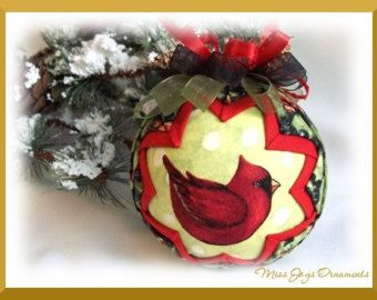 Jingle bells quilted christmas ball ornament by sundaygirldesigns picture perfect quilted ornament do it yourself pdf tutorial solutioingenieria Choice Image