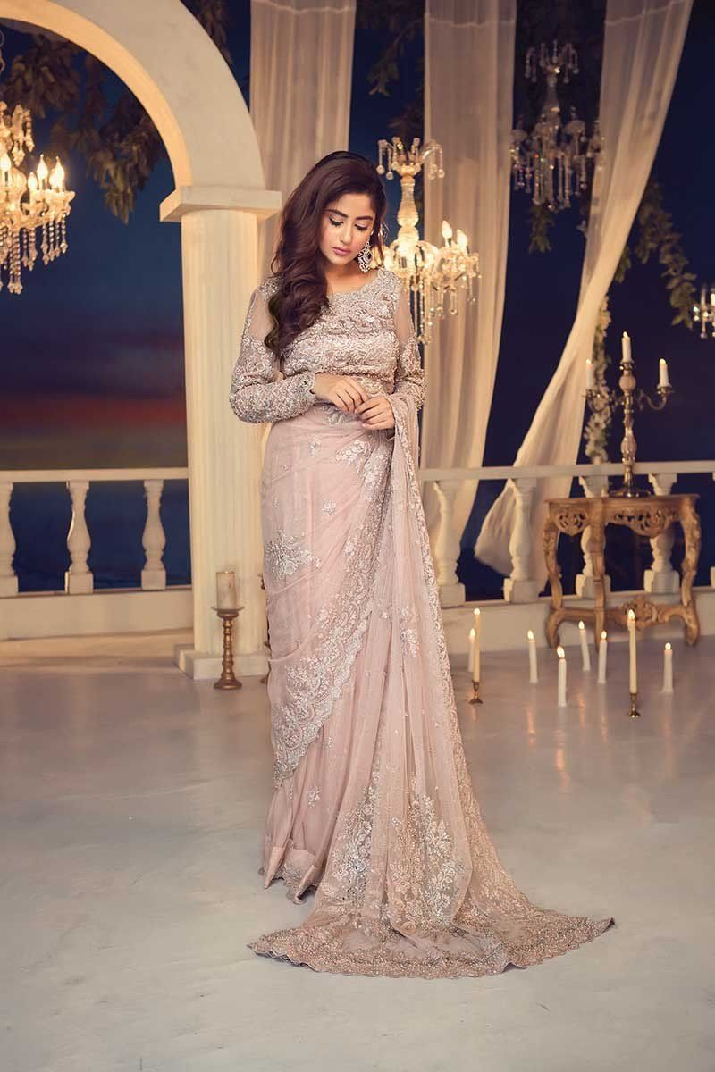 Maria b couture latest fancy formal wedding dresses haseen