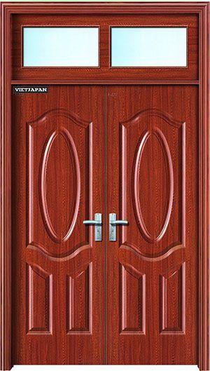 wood by steel edis 123- cửa thép van gỗ edis 123 wood doo …