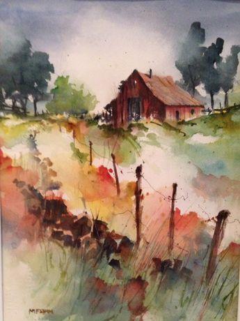 80 Simple Watercolor Painting Ideas Watercolor Landscape Paintings