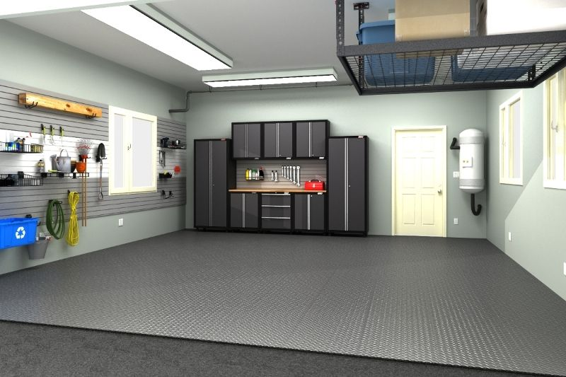 2 Car Garage Design By Size Idea Gallery Garage