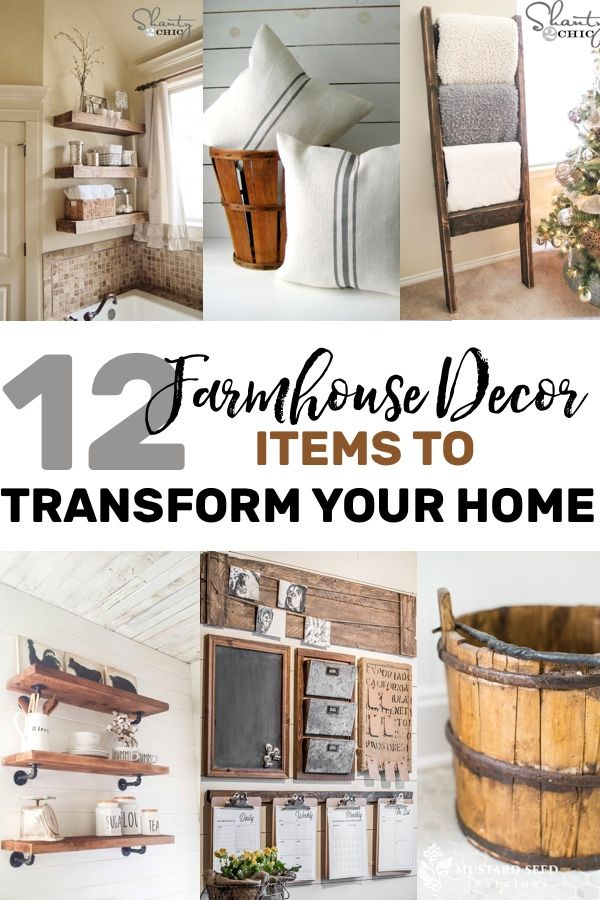 Farmhouse Decor For Transforming Your Home Decor Ideas Pinterest