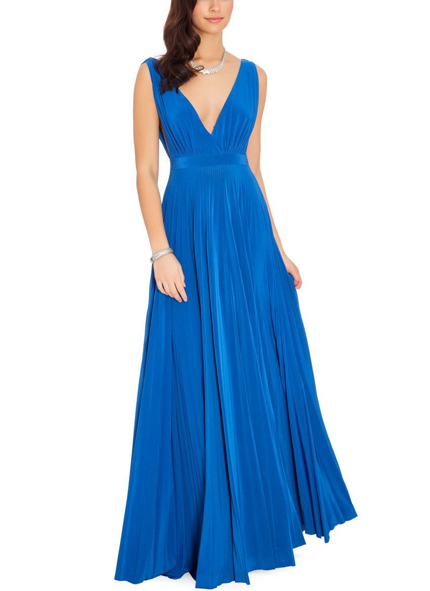 Royal Blue Maxi Gown | Maxi gowns, Blue maxi and Royal blue