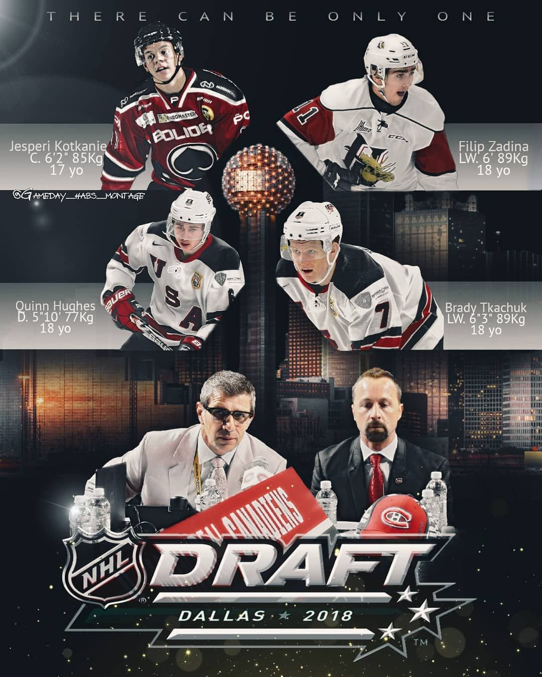 NHL DRAFT 2018 The first round of the draft is Friday (7