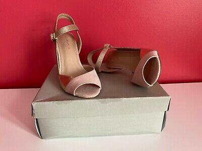 Kurt Geiger Carvela Ladies Nude & Gold Suedette Shoes - Size 4   **Brand New**  | eBay