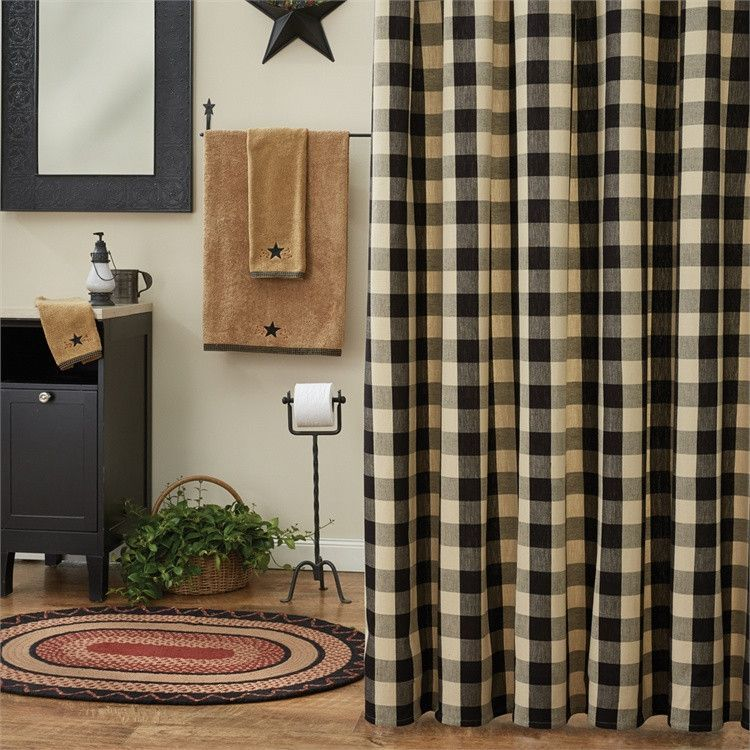 Wicklow Shower Curtain - Black   Products