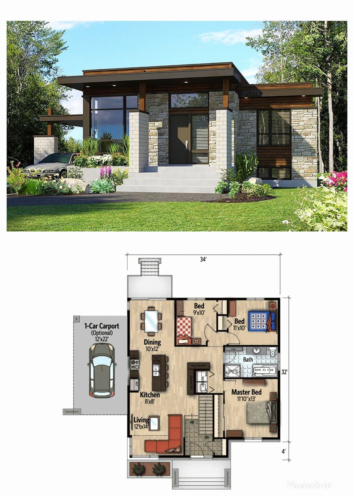Ultra Contemporary House Plans Best Of Adorable Winning Modern Small House Plans Dream Ideas In 2020 Contemporary House Plans Small House Plans Modern Bungalow House