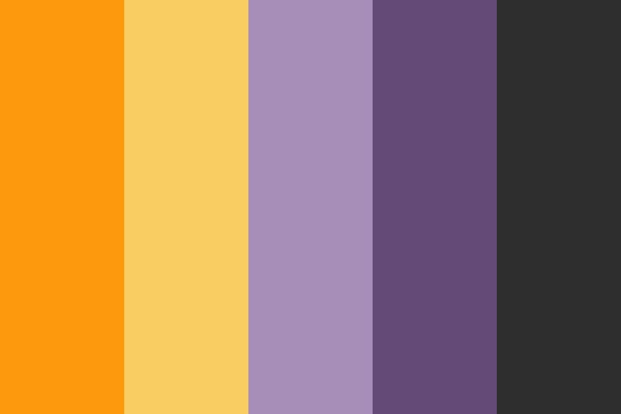 Halloween Color Palettes 2020 Halloween Goat Color Palette in 2020 | Halloween color palette