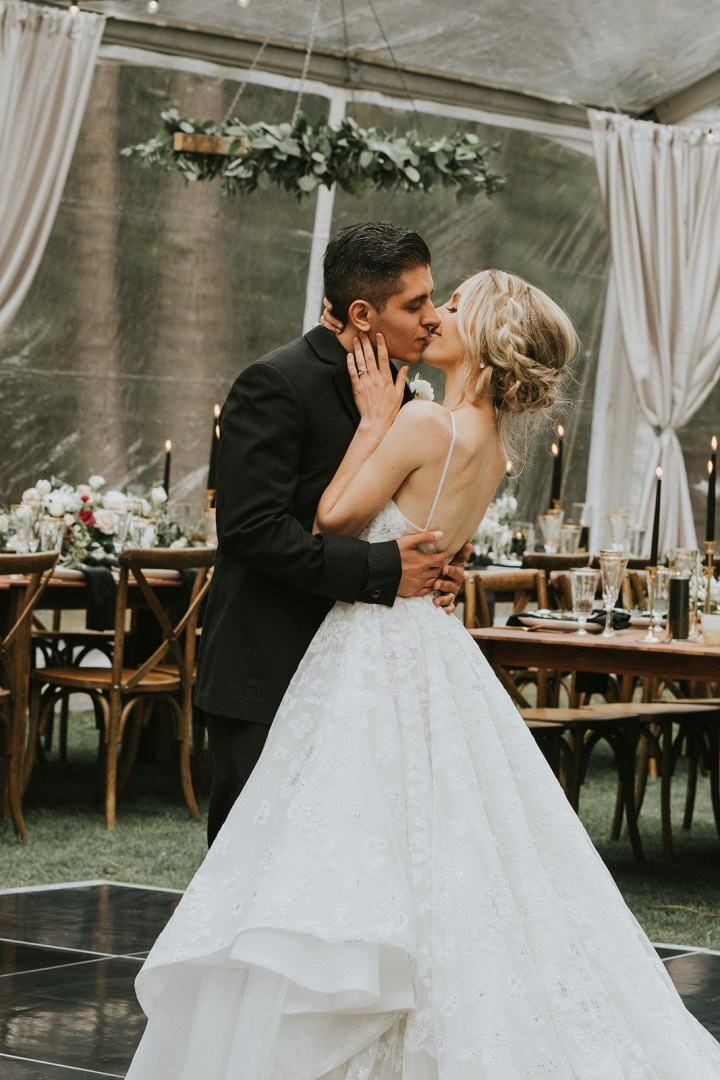 This stunning forest wedding takes place at a dream ...