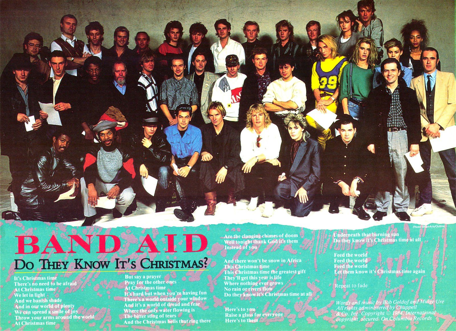Do They Know Its Christmas Time.Band Aid Do They Know It S Christmas 1984 Eighties