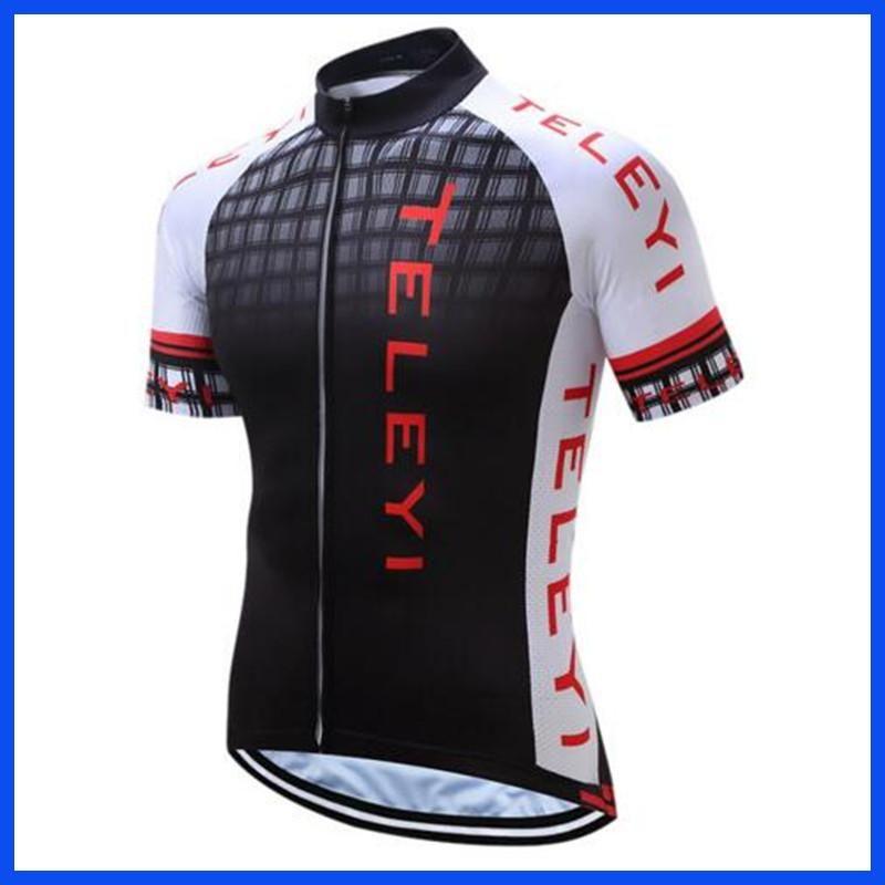 2017 Mejor Ropa de Ciclismo Transpirable Deportes de Encargo Para Hombre  Camisetas de Ciclismo Ropa de Manga Corta Camiseta para 838c4f971fd51