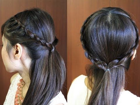 Bebexo Robe Crown Hairstyle Would Be Cute In A Ponytail Http Www Youtube Com Watch V Cvdo6fy Braided Headband Hairstyle Hair Tutorial Short Hair Tutorial