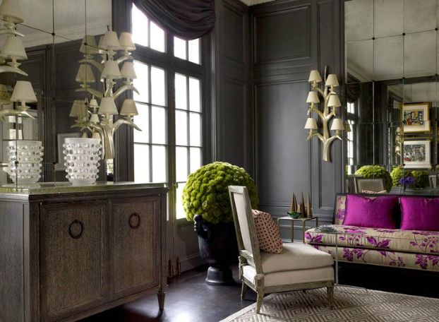 Living Room With Dark Dramatic Walls 30 Ideas Decoholic Dark Living Rooms Dark Walls Living Room Living Room Colors