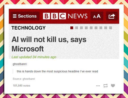 Suspicious Headline