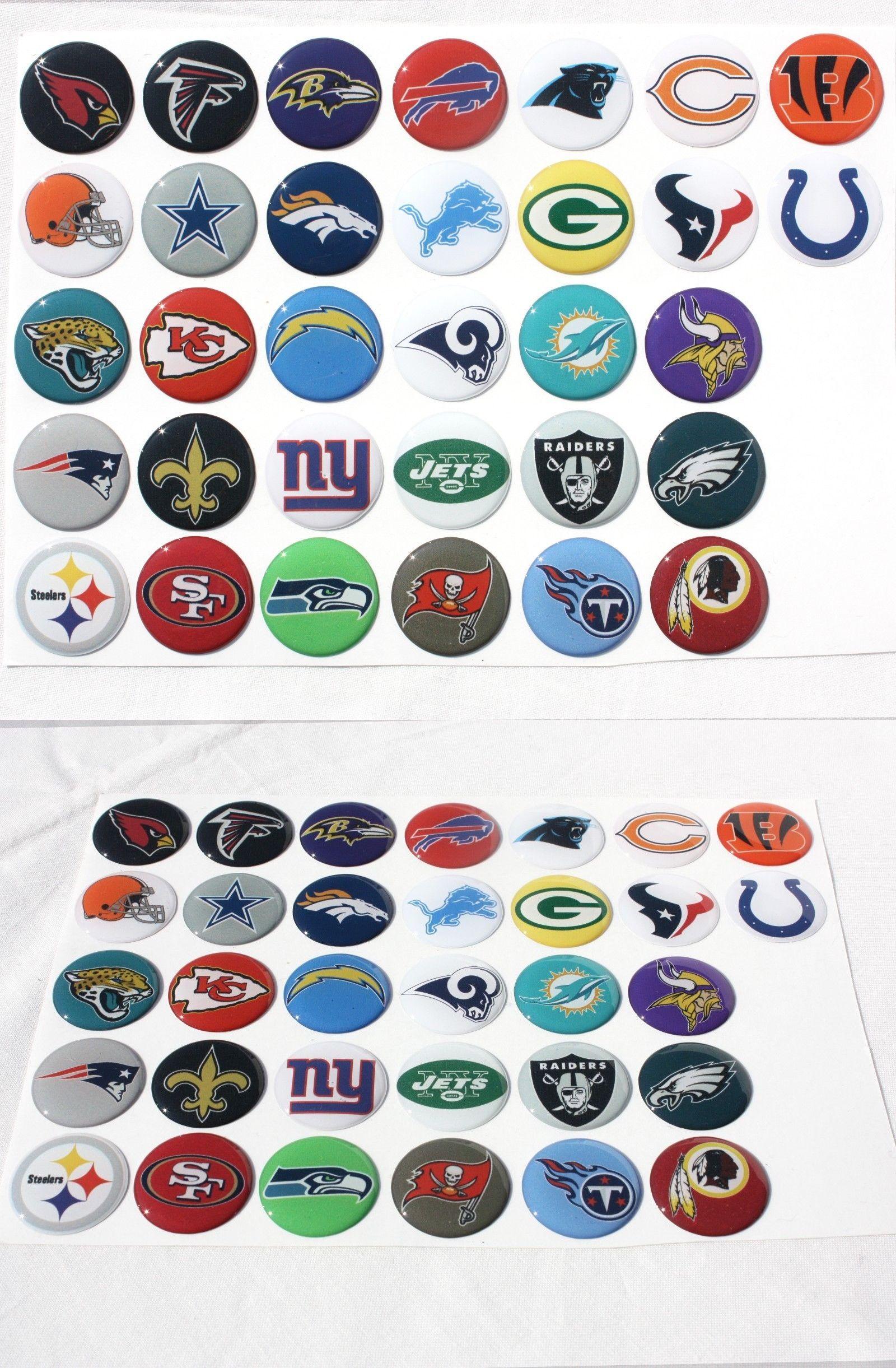 NFL Team Button Set