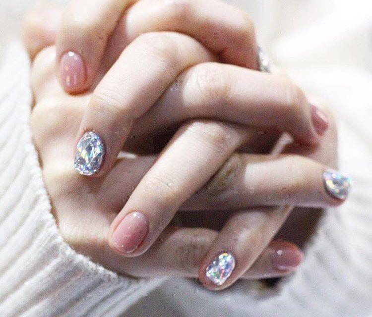 Diamond Manicure | POPSUGAR Beauty | (2017 Trends/Aesthetic) New ...
