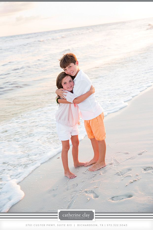 Family Beach Pictures Florida Clothing Ideas Watercolor Seaside
