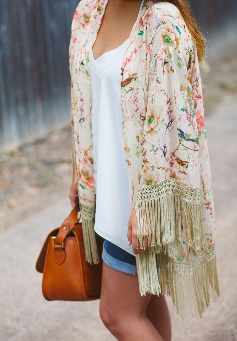 Summer Trend: The Floral Kimono