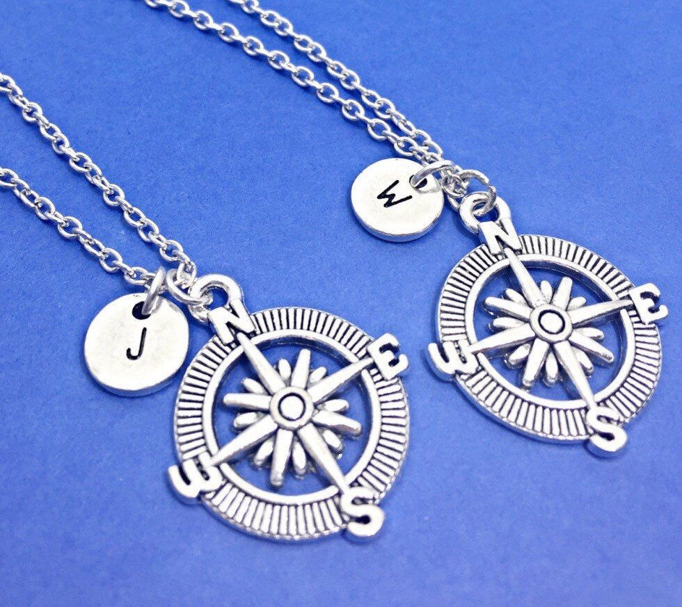 925 sterling silver best friend necklace for 2 best