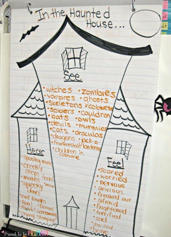 Halloween Haunted House Writing Halloween haunted houses, Haunted - halloween writing ideas