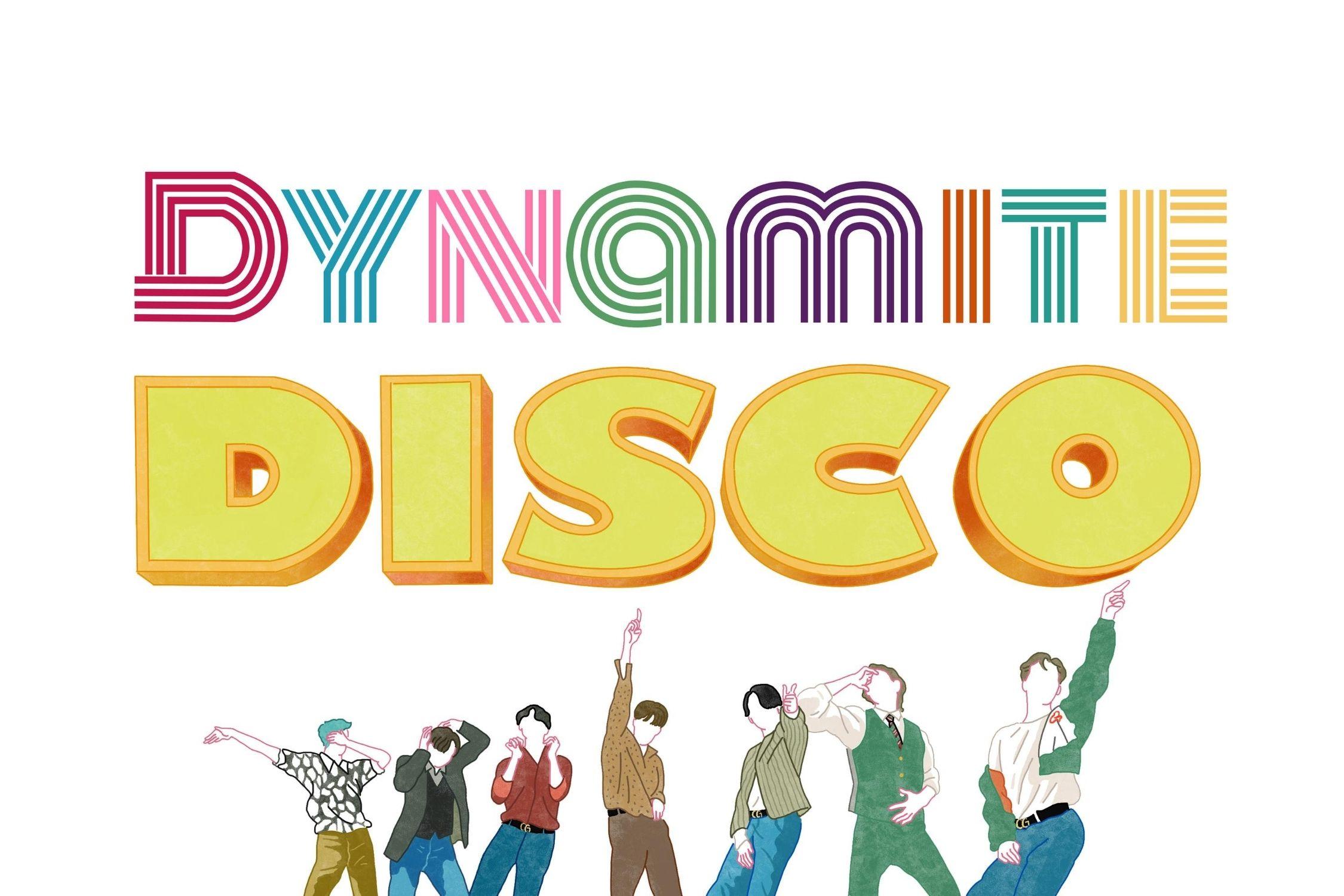 BTS Dynamite Clipart,LOGOPNG, bangtan boys disco