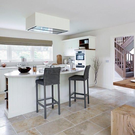 Küchen Küchenideen Küchengeräte Wohnideen Möbel Dekoration - landhauskche mit kochinsel