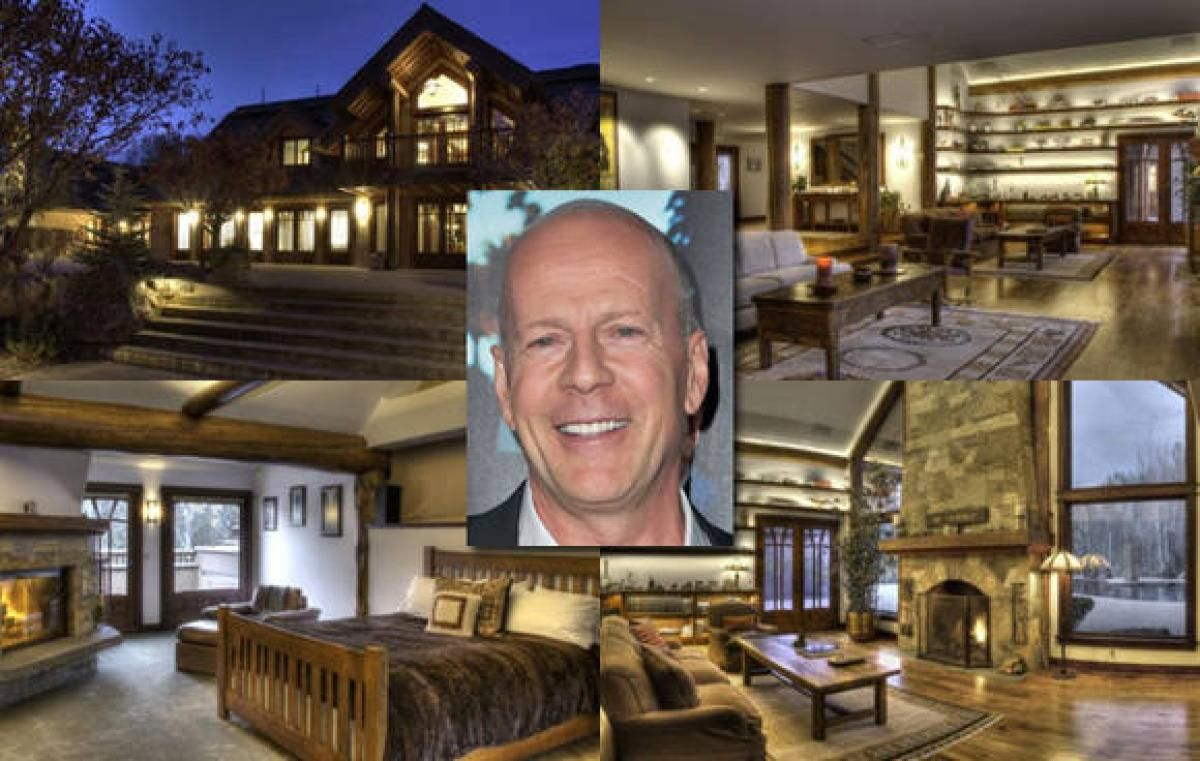 bruce willis photos inside celebrity homes soldier mountain bruce willis photos inside celebrity homes
