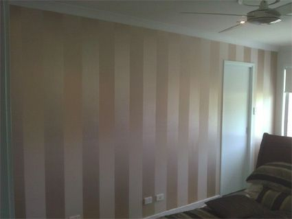 Striped Metallic Wallpaper Bedroom Metallic Wallpaper How To Install Wallpaper Glam Decor