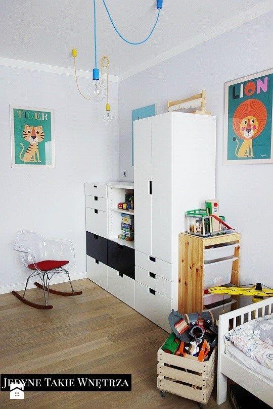 szafa ikea Pokój dziecka styl Skandynawski  zdjęcie od   -> Kuchnia Ikea Dla Dzieci Opinie