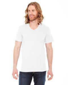 5a07698771e American Apparel Unisex Sheer Jersey Loose Crew Summer T-Shirt RSA6402 WHITE