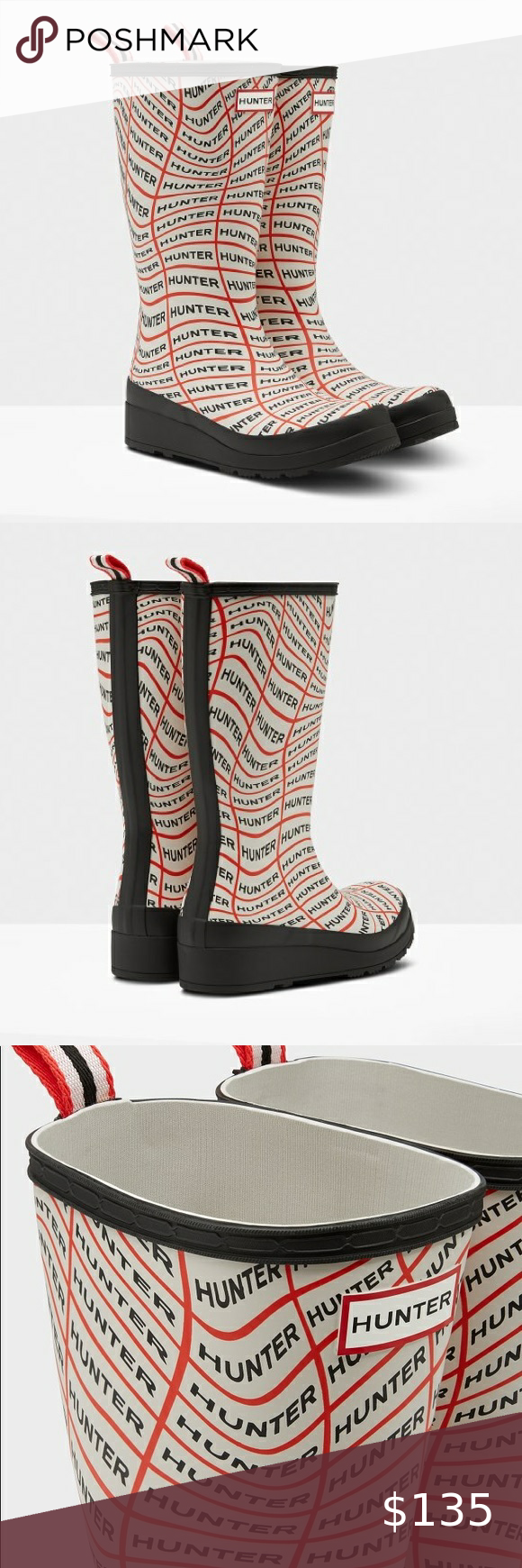 Women's Original Logo Tall Rain Boots in 2020 Fashion