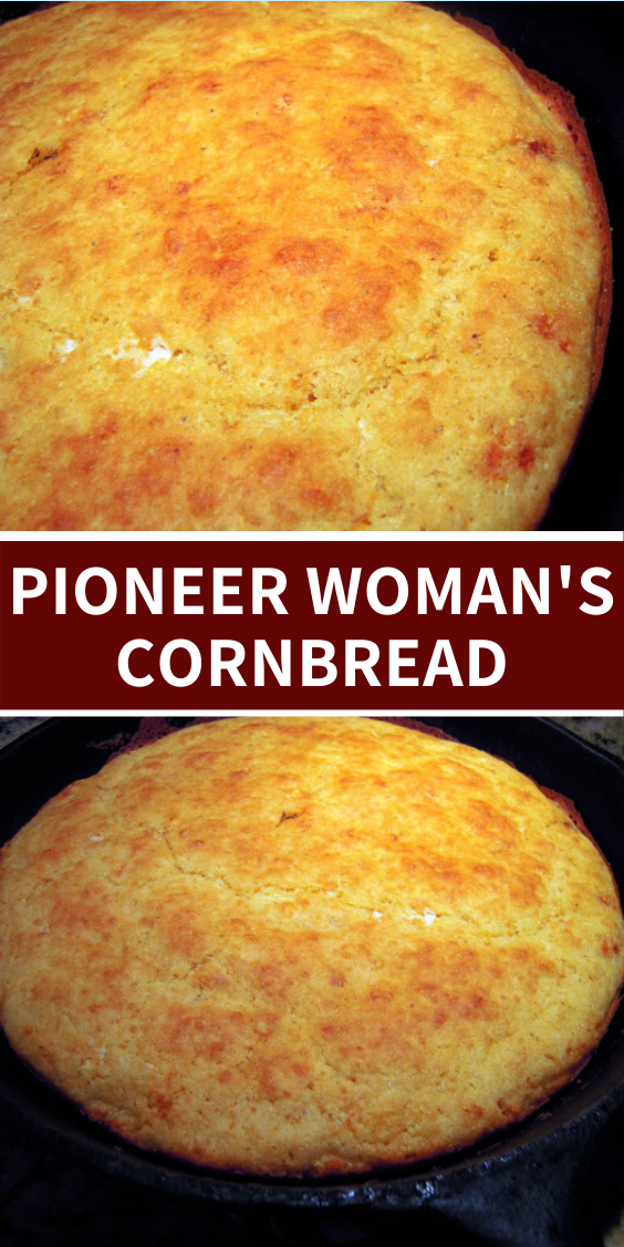 Pioneer Woman S Cornbread In 2020 Pioneer Woman Cornbread Easy Cornbread Recipe Homemade Cornbread
