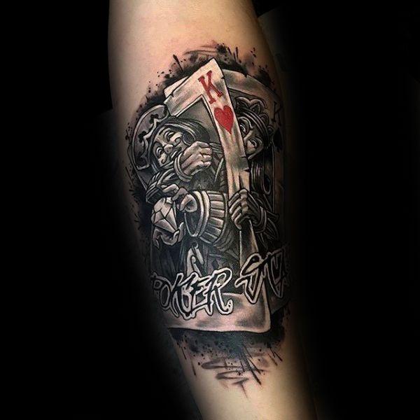 90 Naipe Tatuajes Para Los Hombres Ideas De Diseño Lucky Tatto