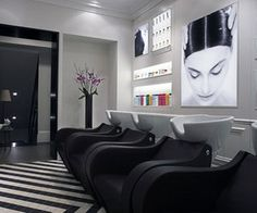 Black And White Salon Theme Ideas