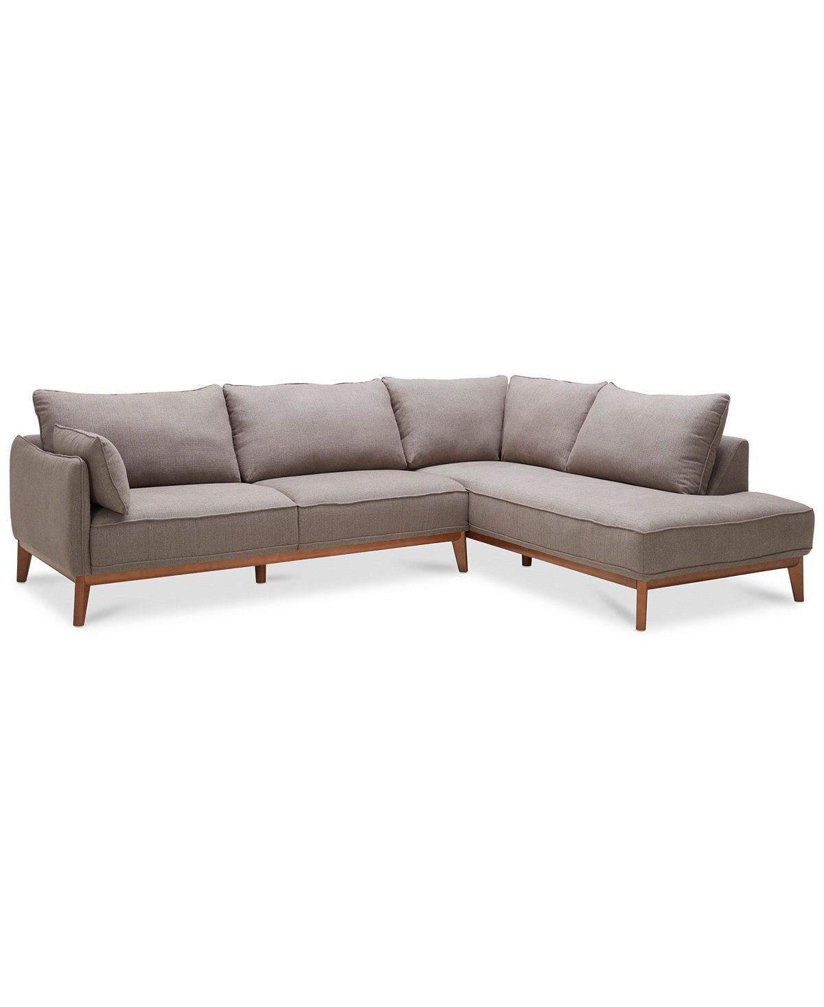 Jollene 113 2 Pc Sectional Created For Macy S Living Room