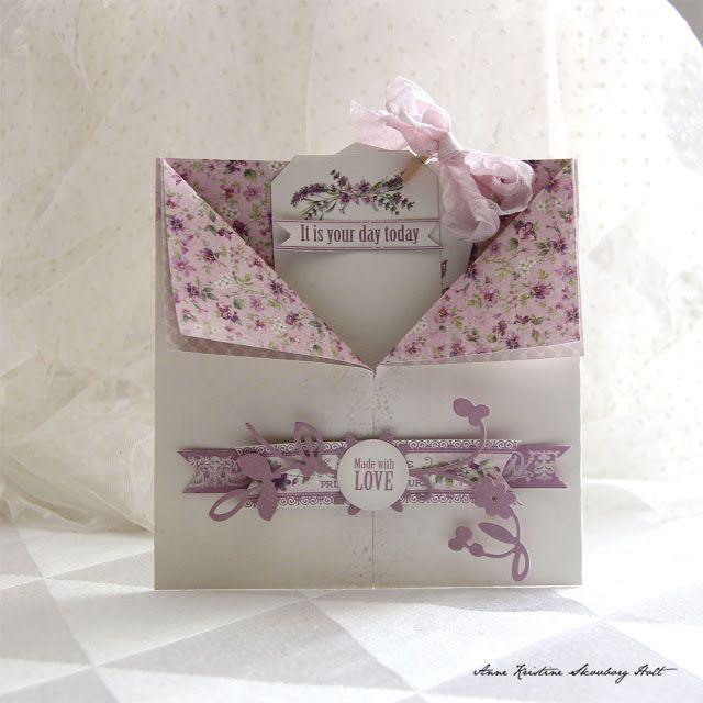 Anne's paper fun: Pion Design - Scent of Lavender