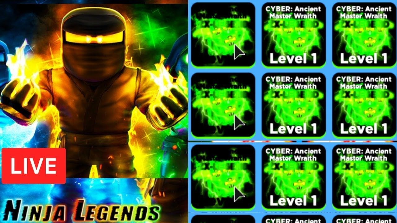 Roblox Ninja Legends New Update Update Z X Legend Secret Omega Pets Ninja Legends In 2020