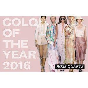 Colore dell'anno 2016 rosa quarzo