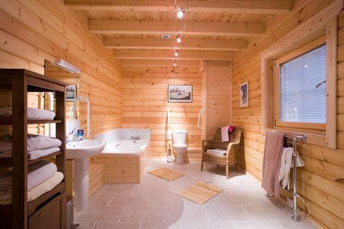 Blockhaus badezimmer juhuuuuuuuuuuu wohnen pinterest for Blockhaus modern einrichten