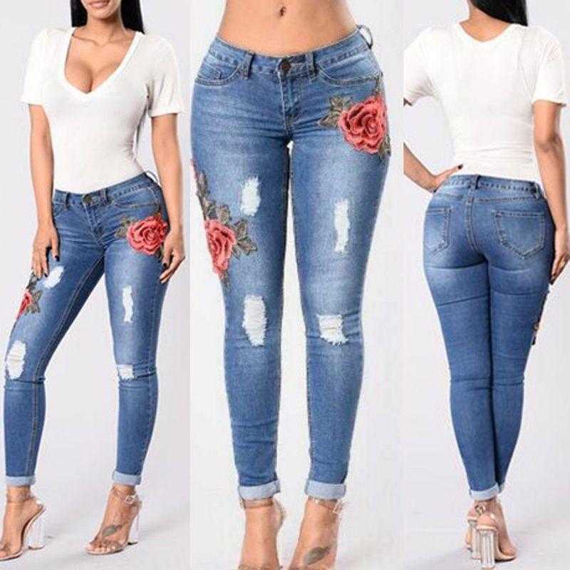 Skinny jeans damen ebay
