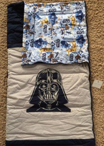 Pottery Barn Kids Star Wars Darth Vader Sleeping Bag Jedi New Christmas Gift Ebay