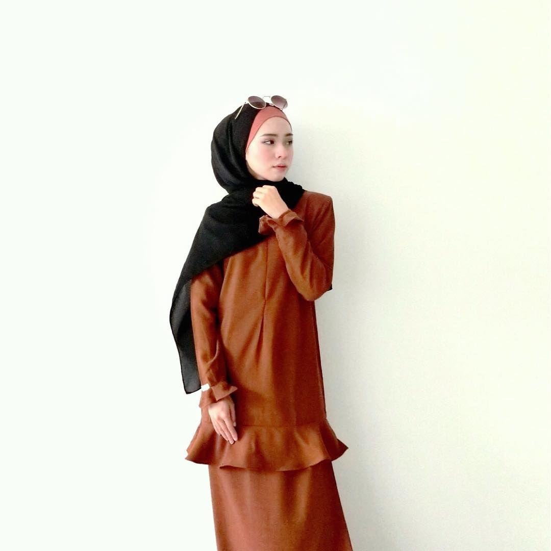 Dira Pakai Baju Kurung From Jubahsouq Ni Tau Best Fit Je Kat Hijab Badan