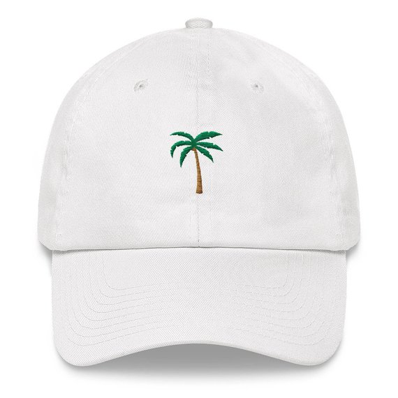 7b71579b0f9 Palm Tree Dad Hat - Palm Tree Hat - Palm Tree - Tropical Hat - Florida Hat  - California Hat - Palms