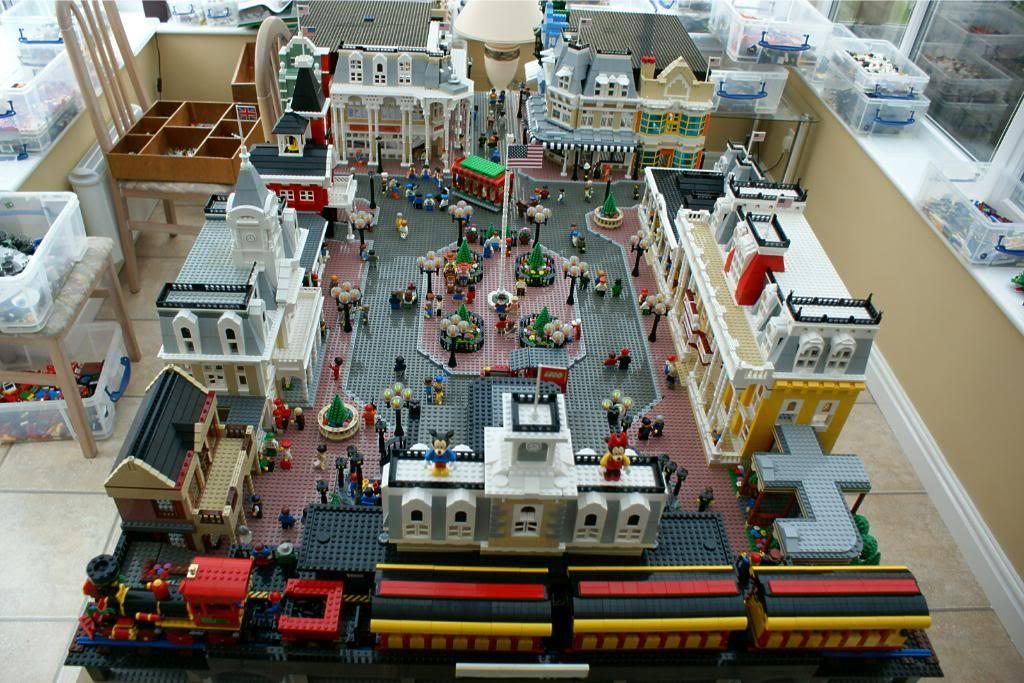 DISNEY DREAMER DESIGNS: Magic Kingdom Main Street USA out of