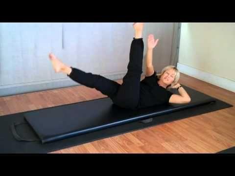 gaiam pilates  7 steps to flat abs mari's advanced