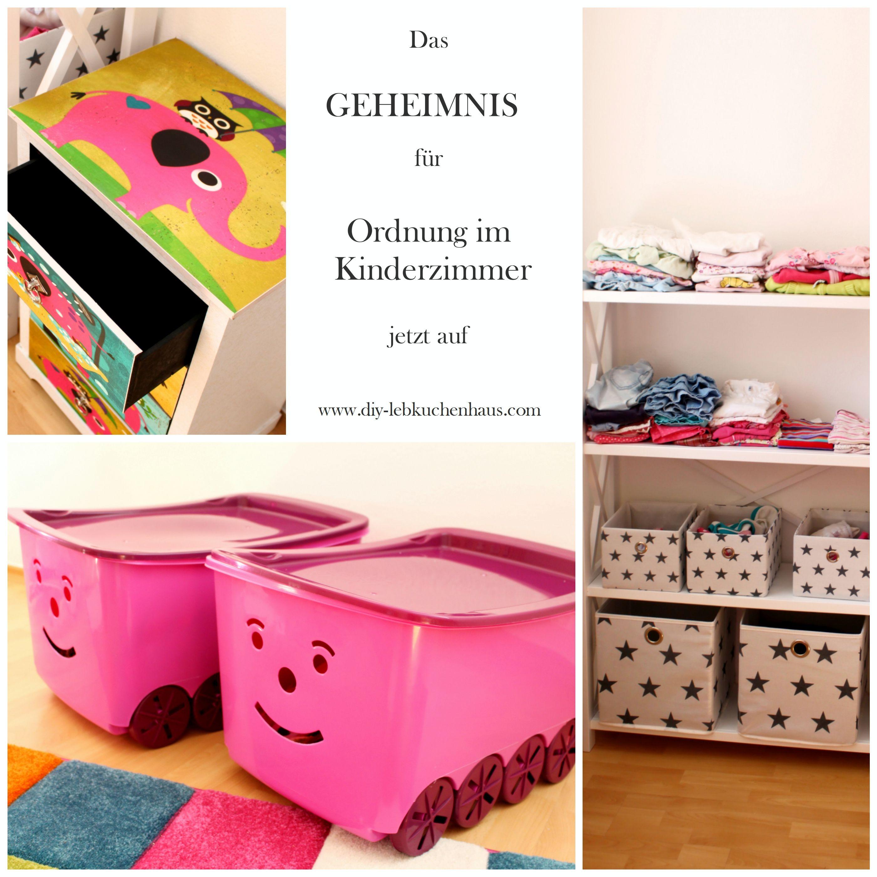 Das lebensrettende Geheimnis für ein ordentliches Kinderzimmer